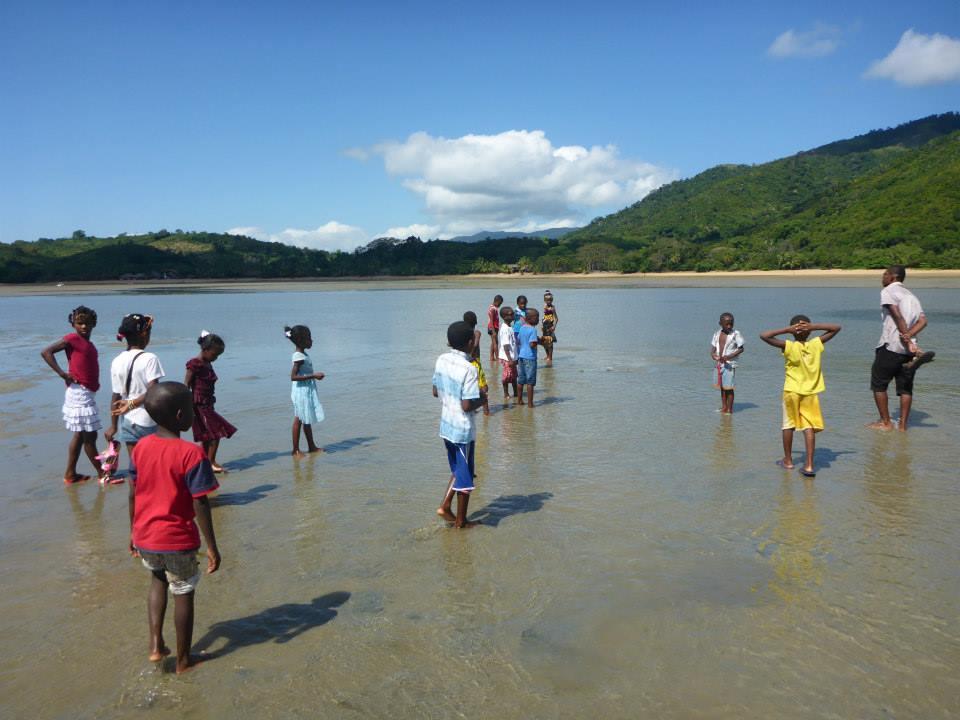 Arrivée sur la plage de Lokobe
