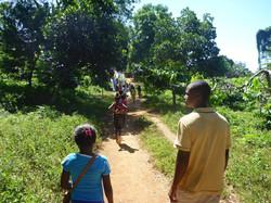 entrée dans la forêt de Lokobe