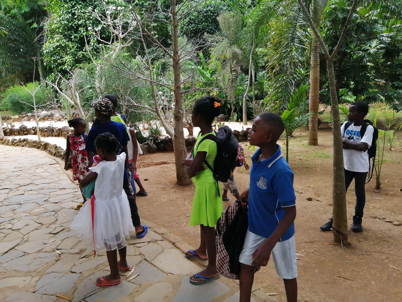 Visite du parc du Lemuria Land