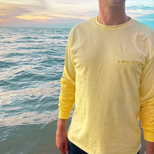 """Ombre Yellow Unisex """"Whipped"""" Shirt"""