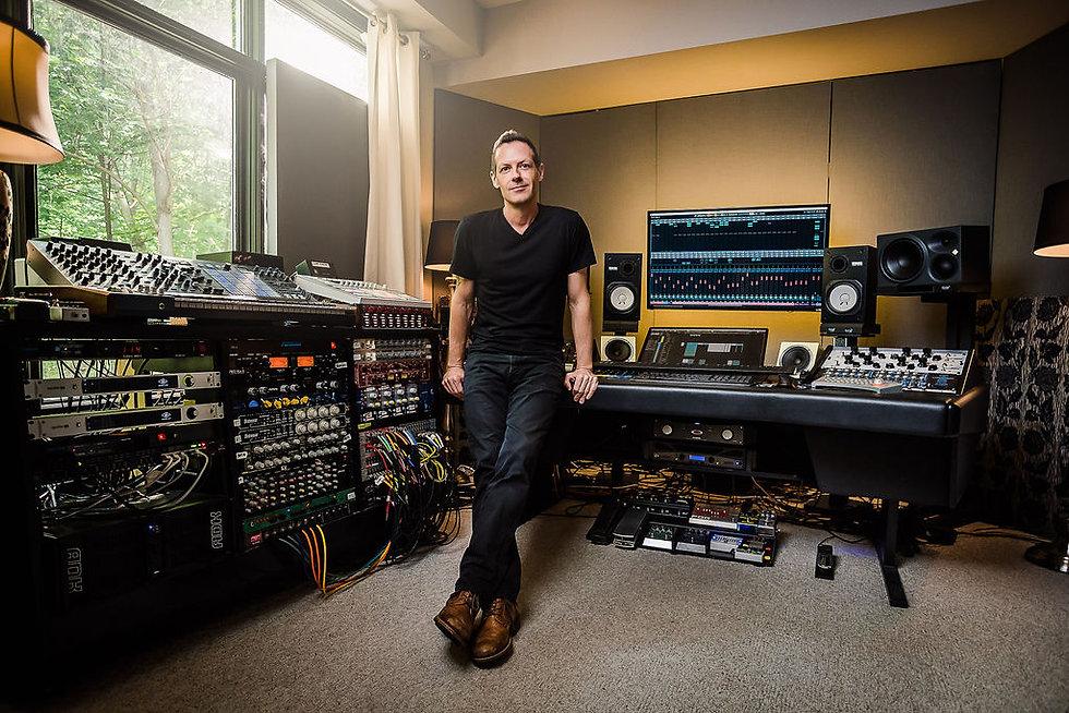 Gyom in the Studio