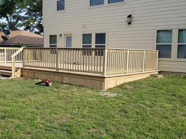 Upgrading the backyard