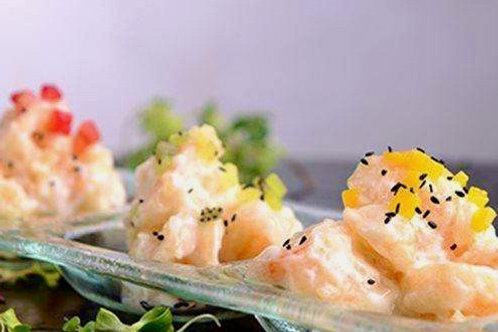 Mayo Prawns with Sesame Seeds (芝麻生汁虾球)