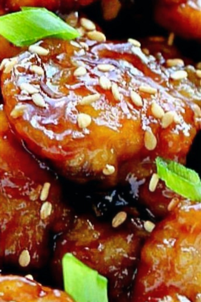 Wok-fried Chicken with Honey Ginger Sauce (蜜汁子姜鸡)