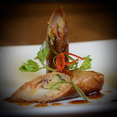 Wok-Seared Pheasant Roll(凤城野鸡卷)