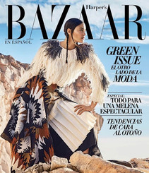 Harpers Bazaar cover! launching our Robin sweater