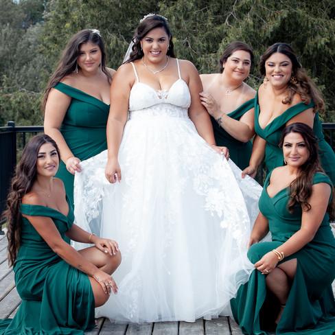 Racha + Bridemaids