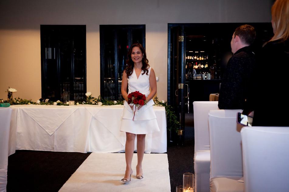 WEDDING AT COURYARD RESTUARANT