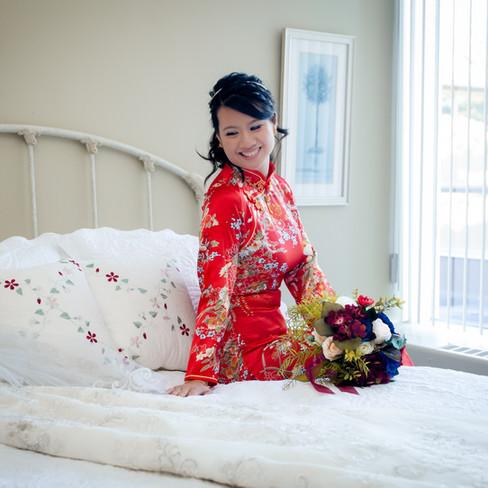THE BRIDAL DRESS