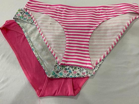 5751 Tripack Bikini En Lickra de Algodón