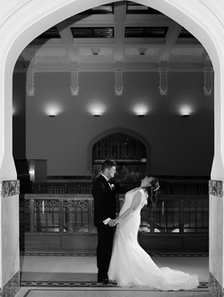 Wedding photography museum of nature