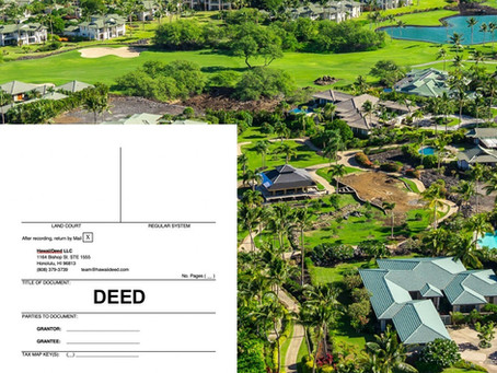 How Do I Transfer My Hawaii Property Title?