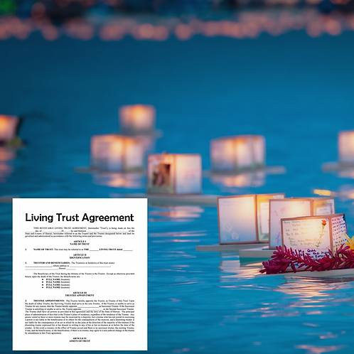 Living Trust Estate Plan