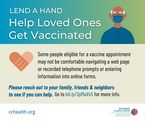 Help Loved Ones Get Vaccinated