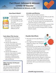 Fact Sheet Johnson  Johnson (CCHS) 4-29-