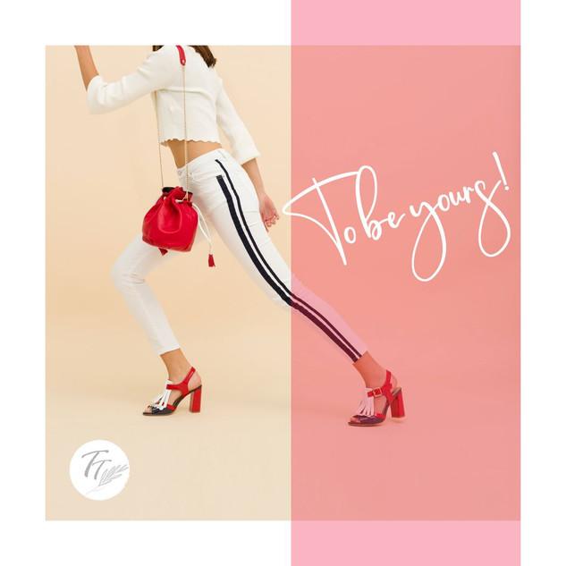 Fotografias creativas de calzado con mod