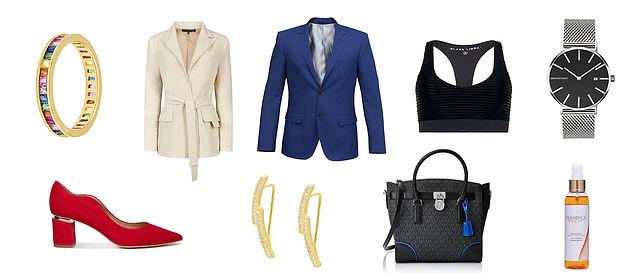 Fotografías de producto, joyas, calzado, ropa, relojes, packaging, calzado y complementos, electrónica.