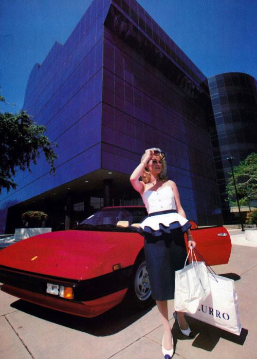 Kathy Hilton, Fotografía: Dana Fineman, Town & Country magazine,1985.