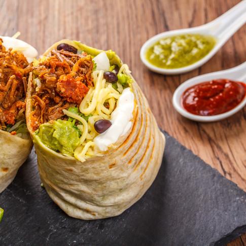 Menú Burritos