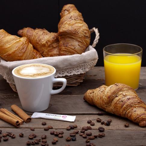 Cafe zumo y bolleria