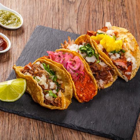 Menú tacos