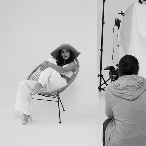 Making off sesion de fotos moda