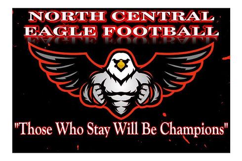 North Central Eagle Football Champion Lo