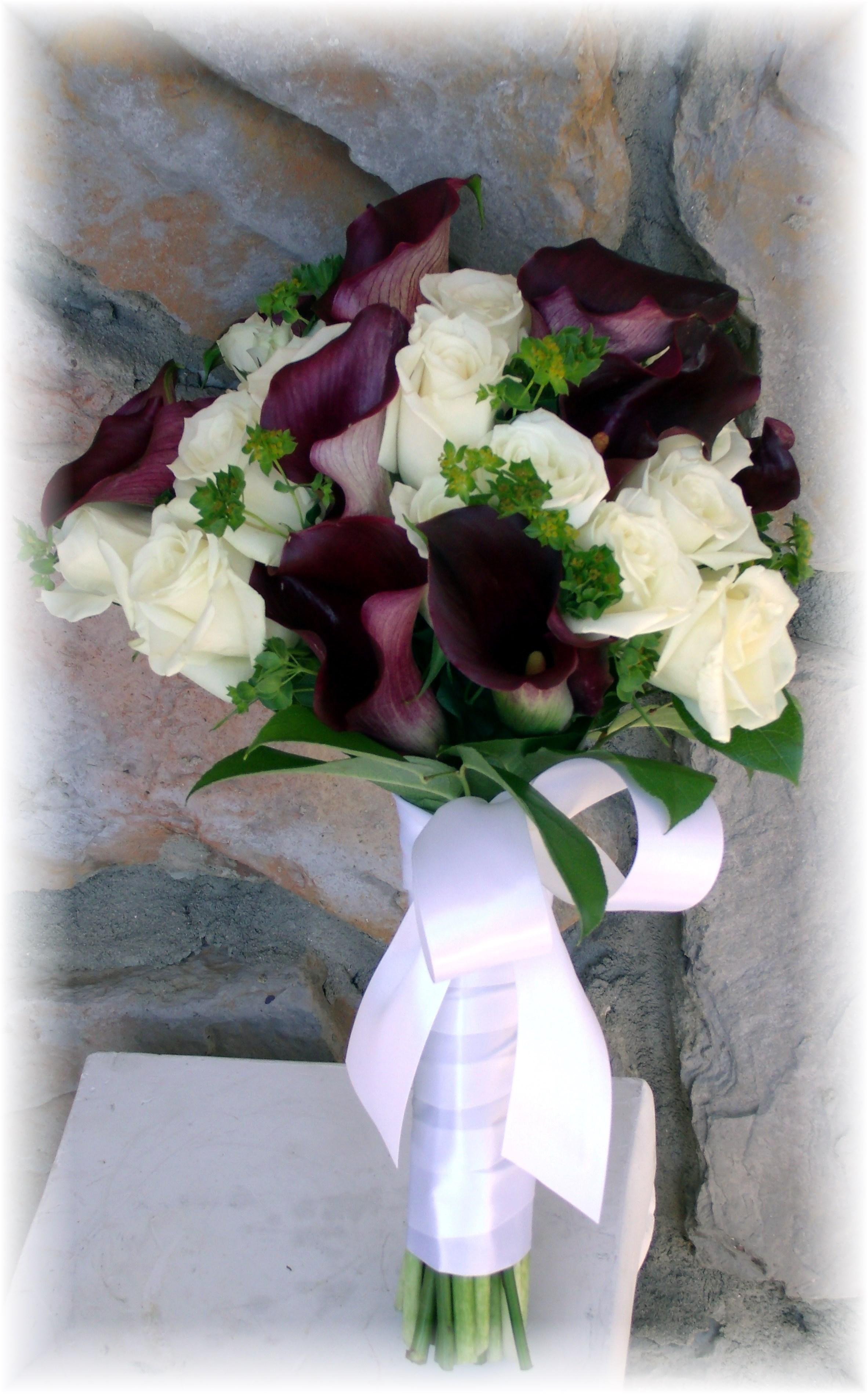 Calla lilies & Roses