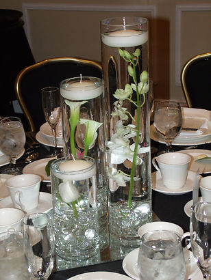 Centerpiece Tall Wedding Party