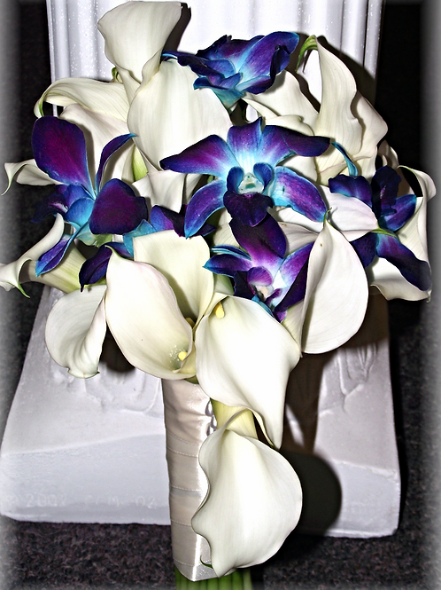 Calla Lily & Orchid Bouquet