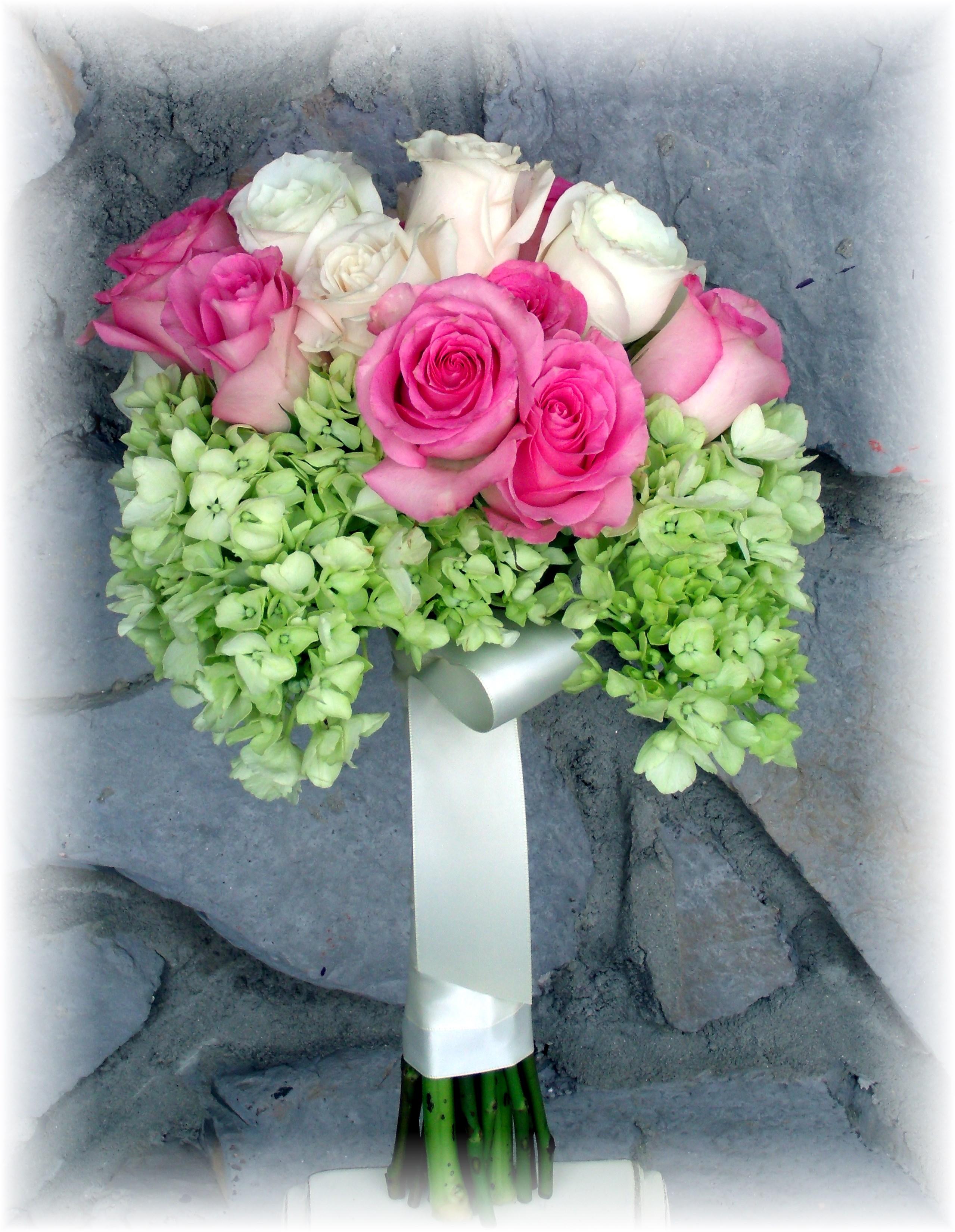 Hydrangea & Rose Bouquet