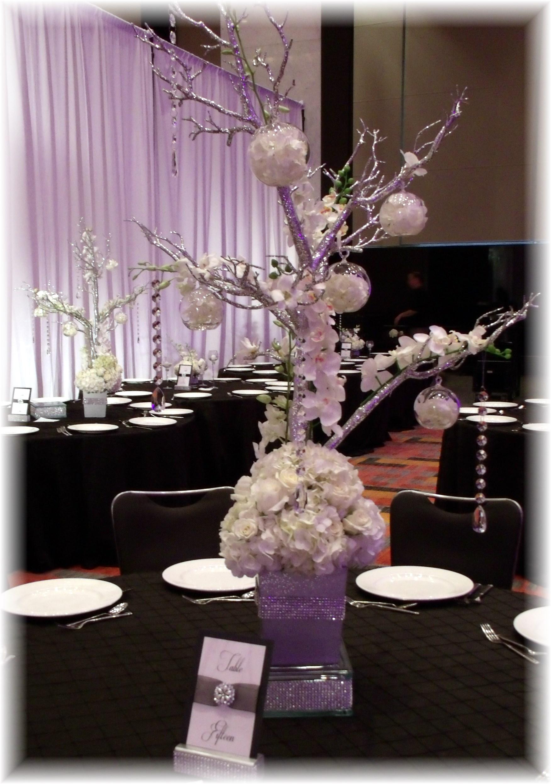 Wedding tree centerpiece