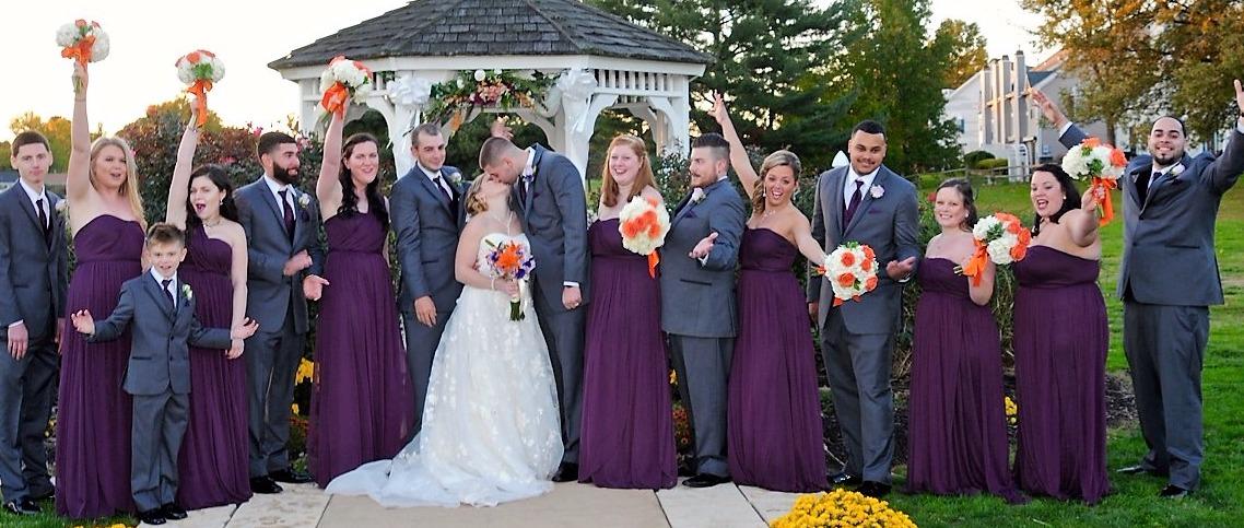 Wedding Purple & Orange