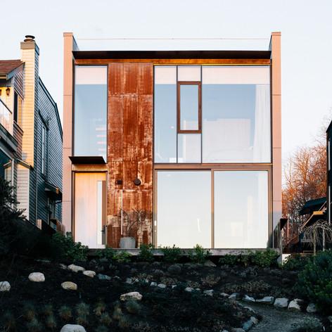 CLT Courtyard House