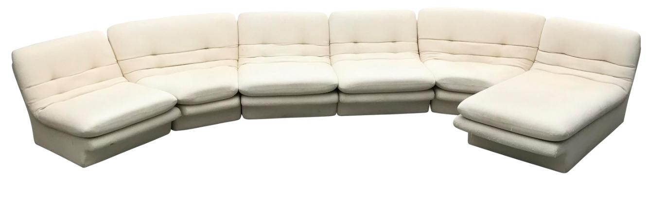 Astonishing 1970S Vladimir Kagan For Preview Sectional Sofa Creativecarmelina Interior Chair Design Creativecarmelinacom
