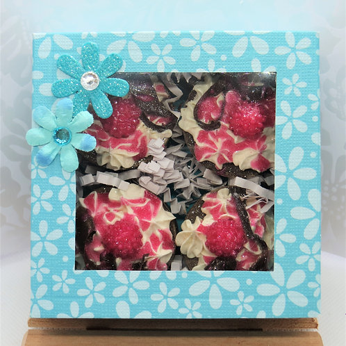 Chocolate Raspberry Petite Fours