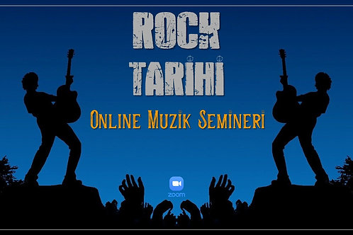 Online Rock Müzik Tarihi Semineri