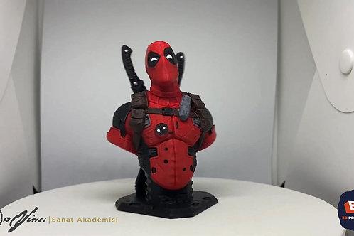 3D Deadpool+Boyama Seti