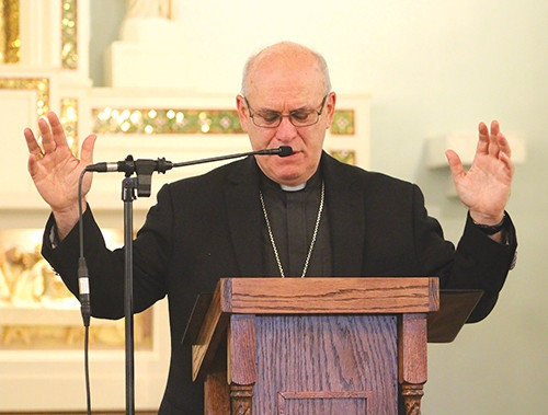 Bishop Rhoades blesses new O'Donnell Center