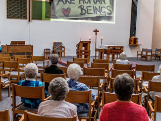 Wednesdays for the World service at Victory Noll joins in Campaign Nonviolence events