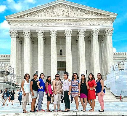Hermanitas in D.C. at Supreme Court Buil