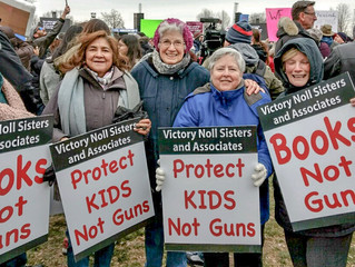 Victory Noll Sisters join in March For Our Lives events