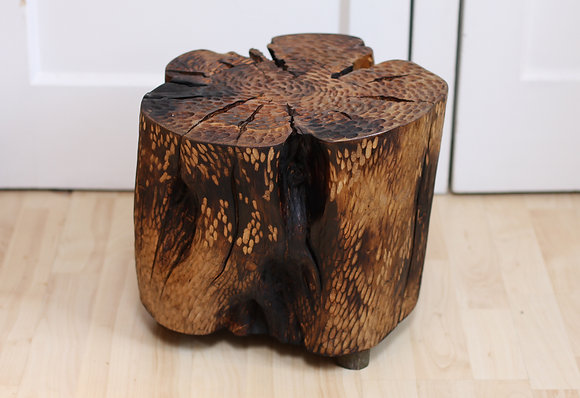 fir stump table