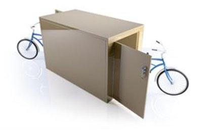 E90 Double Sided Steel Bike Locker