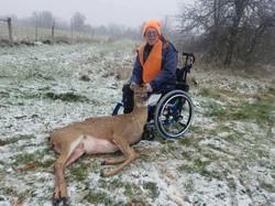Bob's first deer