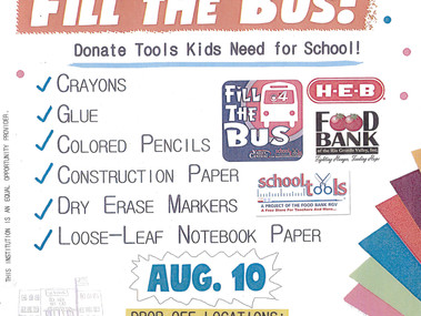 Help Us Fill the Bus!