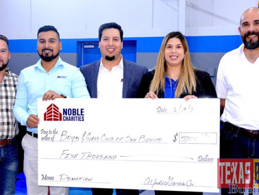 Noble and Subcontractors Made a Difference at Boys & Girls Club of San Benito