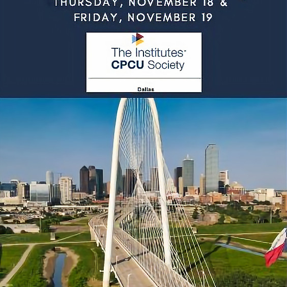 11/18/21 CPCU Virtual I-Day - FREE for students!