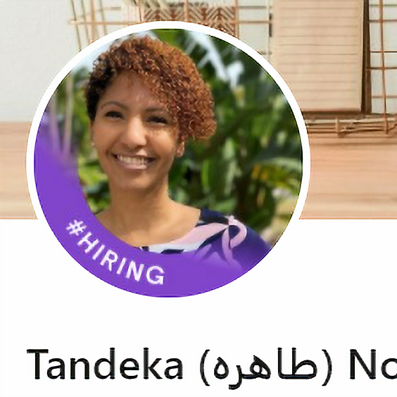 Making the Connection with Tandeka Nomvete