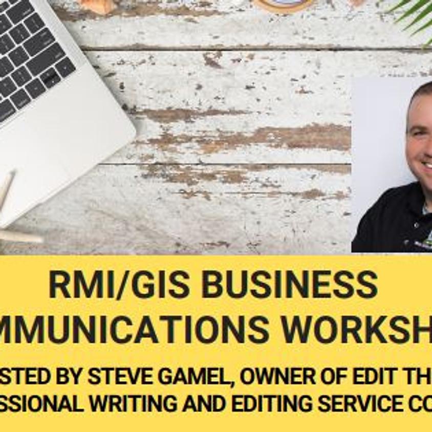 3/3/21 - Business Communications Workshop hosted by Steve Gamel
